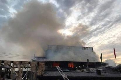 Chihsing Tan Katsuo Museum fire