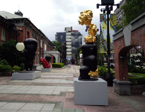 Li Chen sculptures
