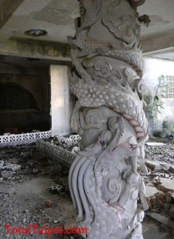 abandoned temple taipei