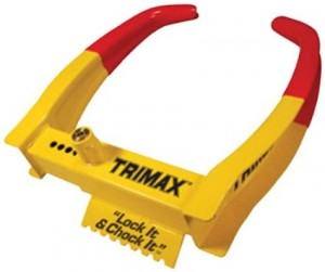 Universal Wheel Chocks from Trimax Designed to Slow Your Roll