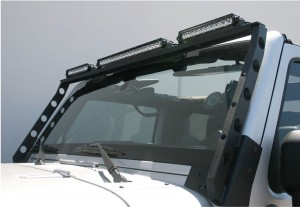 ARIES (15910): Roof Light Bar for 2007-2014 Jeep JK