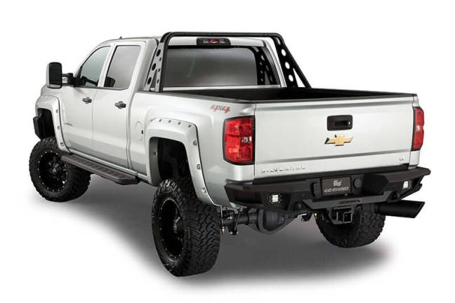 Go Rhino (28171T): BR20 Rear Bumper Replacement for '14–'16 Silverado 1500