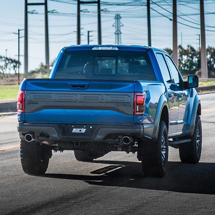 borla mid section atak exhaust 17 19 ford raptor f150 limited
