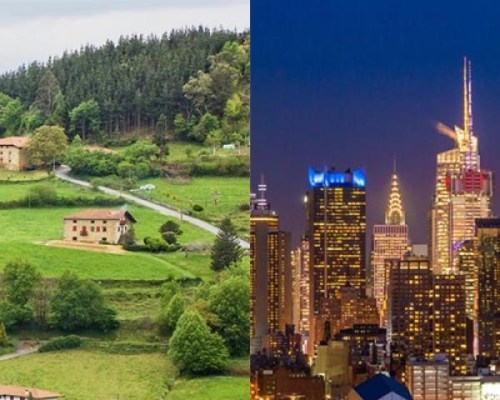 zona urbană si zona rurală