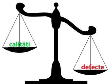 exemple de calități si defecte