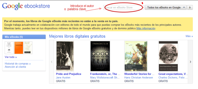 Google eBooks Store