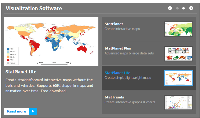 Mapas interactivos StatSilk