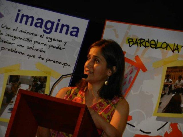 Kiran Bir en el Colegio Montserrat