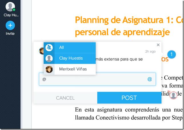 introducir @menciones LiveMinutes