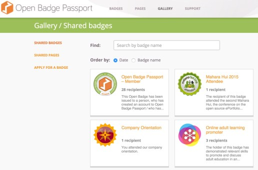 open badge passport
