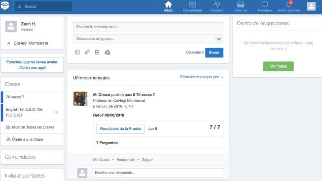 Edmodo-interfaz-curso-online