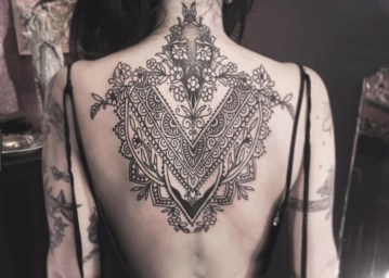 19e6c1e6b The majority of this makes for alluring tattoos that are straightforward  from a separation yet uncover an abundance of complicated detail when seen  very ...