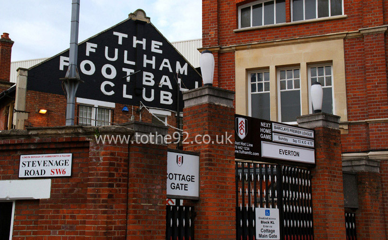 Image result for craven cottage outside