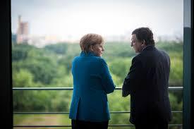 EU Banking Union Merkel and Draghi