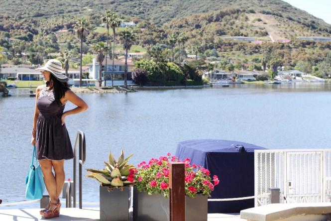 Romantic Getaway at Lakehouse Resort and Hotel. Sweeping Views of Lake San Marcos.