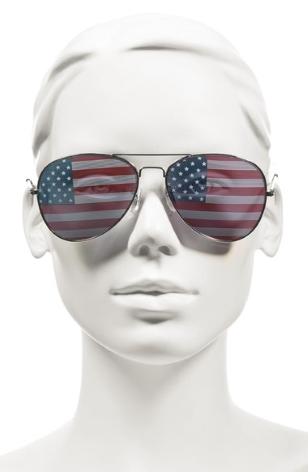 Debbie-Savage-American-Flag-Aviator-Sunglasses