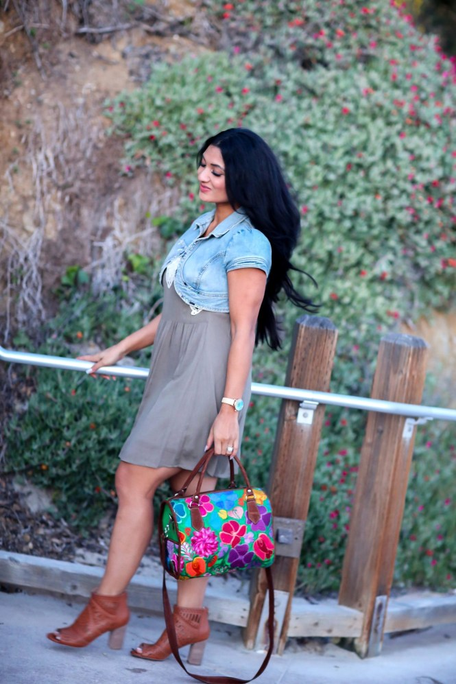 Debbie Savage of To Thine Own Style Be True is Modeling Restricted Shoes Jenice Booties