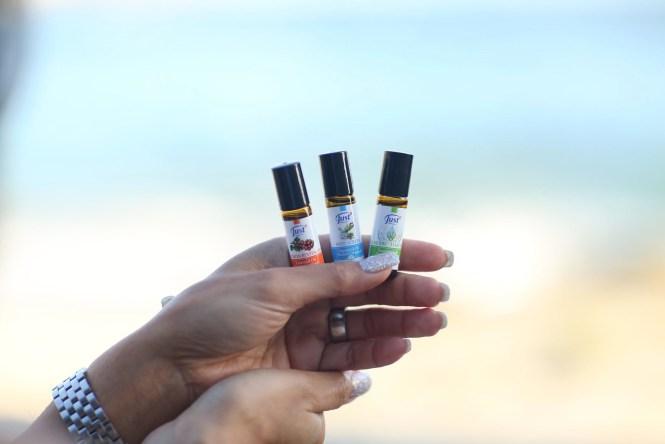 Debbie Savage of To Thine Own Style Be True Loves SwissJust Essential Oil Blends