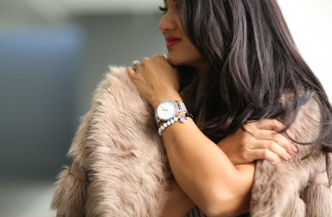 Debbie Savage of To Thine Own Style Be True Loves Christian Paul Watches