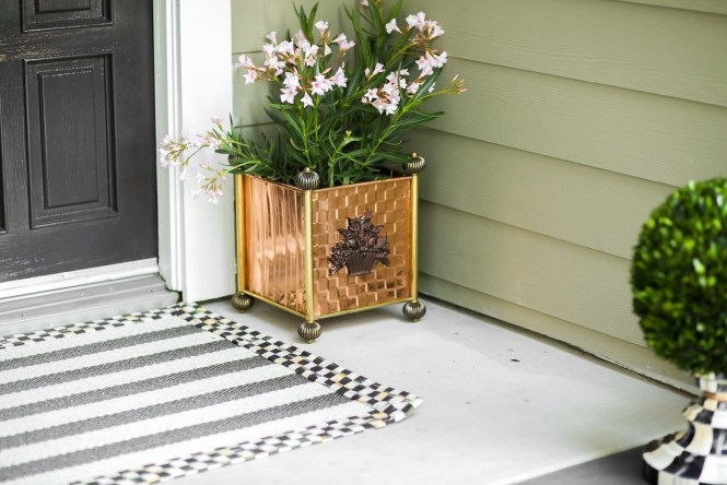 Enhance Your Front Entry with MacKenzie-Childs' Outdoor Collection