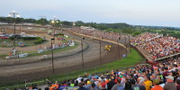 A packed house at the 2014 Thunder on the Hill Speedweek event. (Photo: Chris Budihas)
