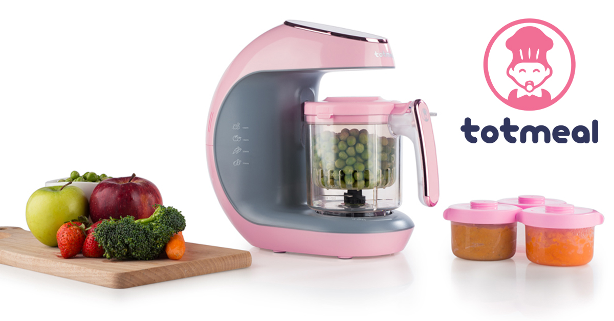 totmeal healthy homemade baby food maker and processor