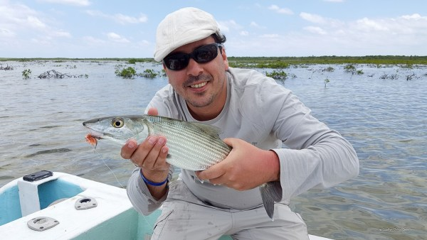Fly fishing en Cozumel 38