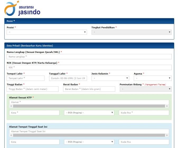 Loker Lowongan kerja BUMN PT Asuransi Jasindo Tahun 2018 Penerimaan pegawai asuransi Jasindo