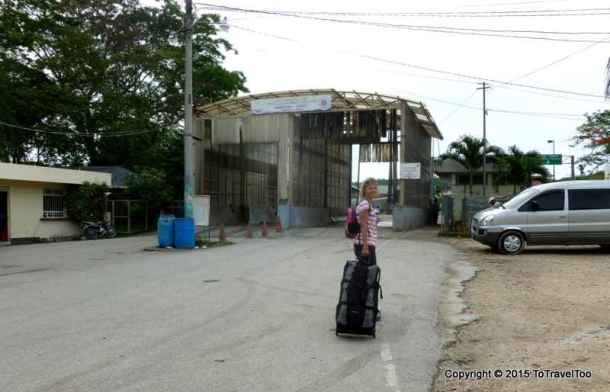 Guatemala to Belize, Caye Caulker Bus, Water Taxi
