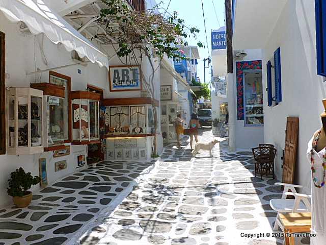 Shopping in Mykonos