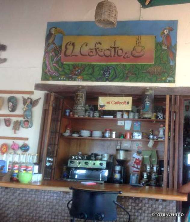 Our favourite coffee place in Zihuatanejo