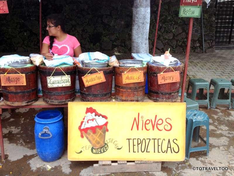 Local Artisan Ice Cream Stall