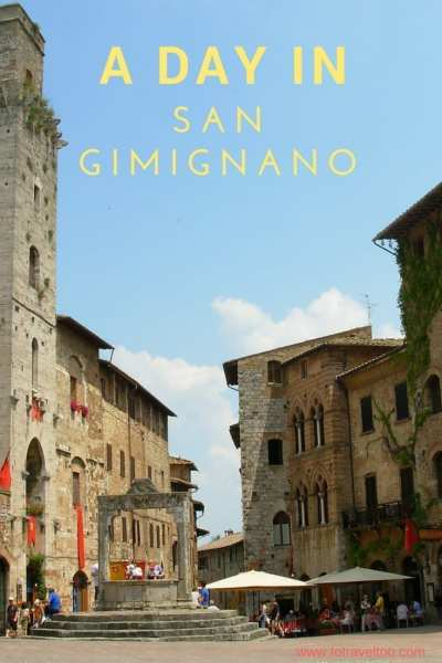 A day in San Gimignano