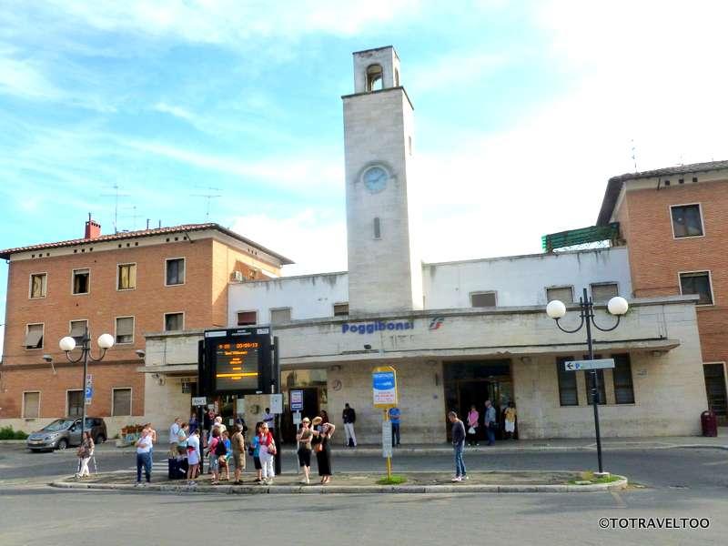 A day in San Gimignano Italy