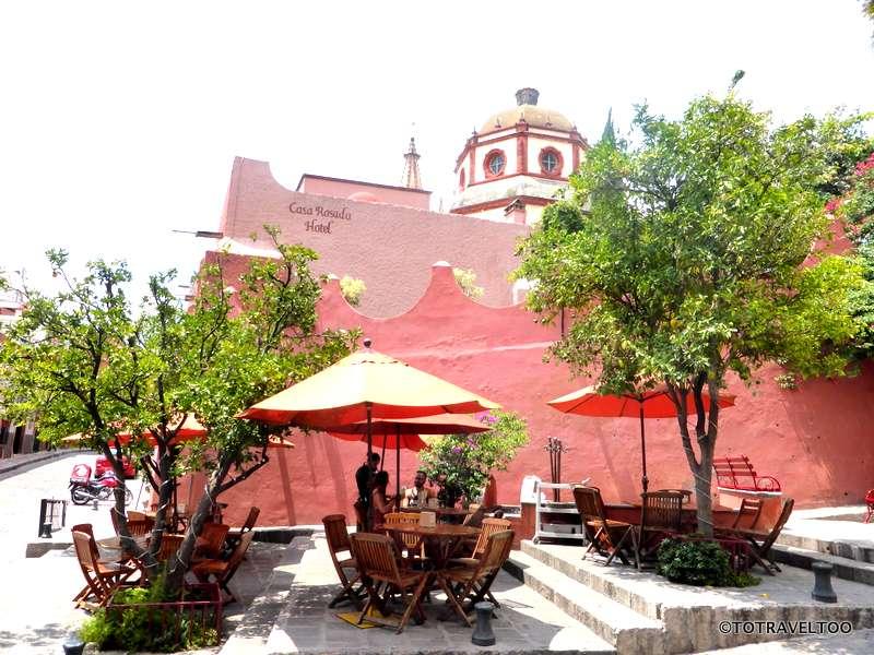 Ten Ten Pie Cafe in San Miguel de Allende Mexico