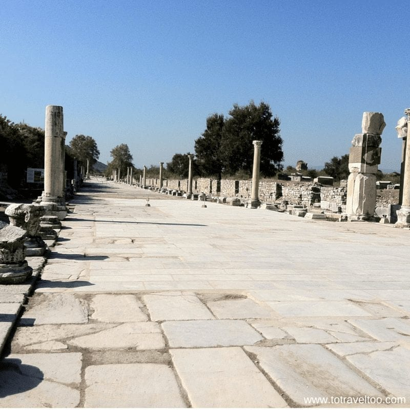 Curetes Street Ephesus