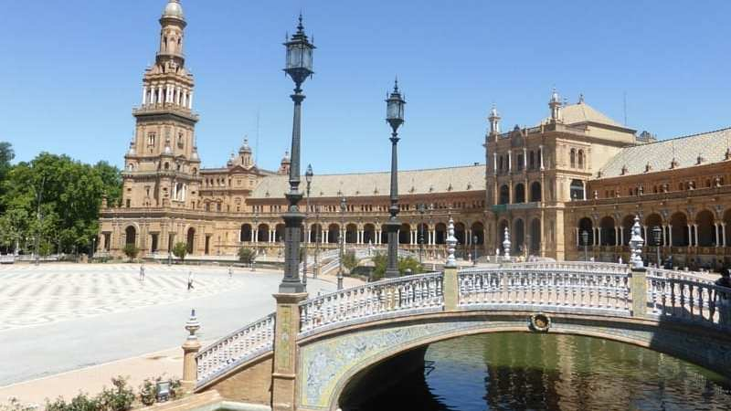 Plaza Espana in Seville
