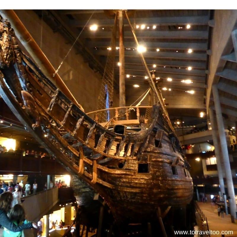 Visit Stockholm and Visit the Vasa Museum