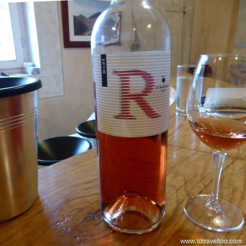 Stagnum Rose 2015 Croatian Wines