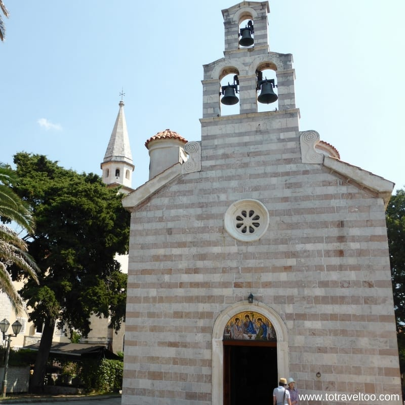 Budva Holy Trinity Church