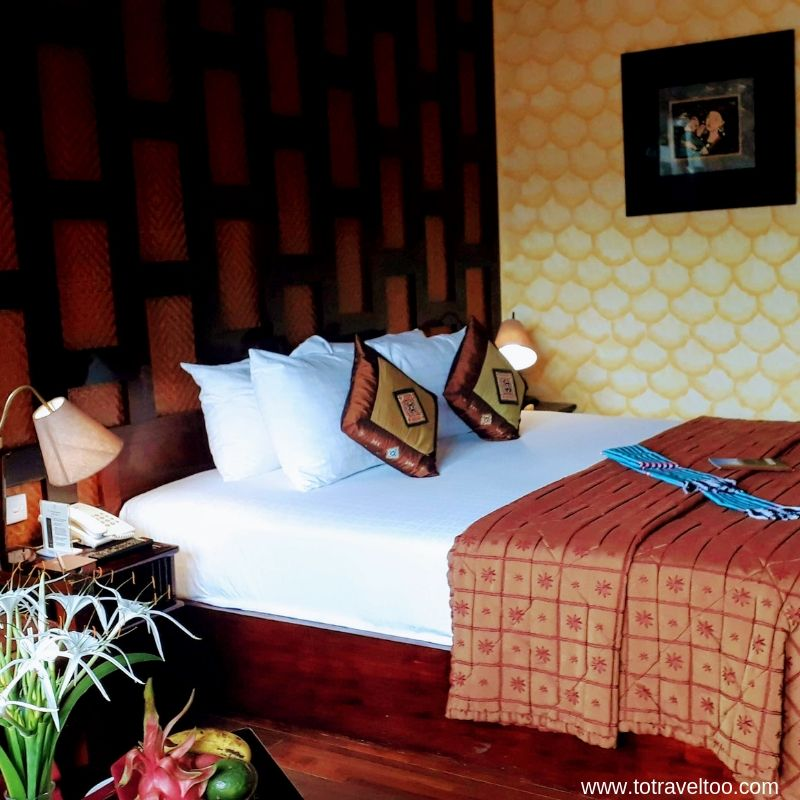 The Deluxe Bedroom at the Victoria Sapa Resort & Spa