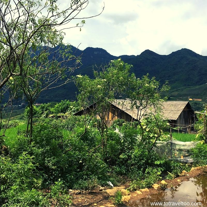 Village in the Ta Giang Phin