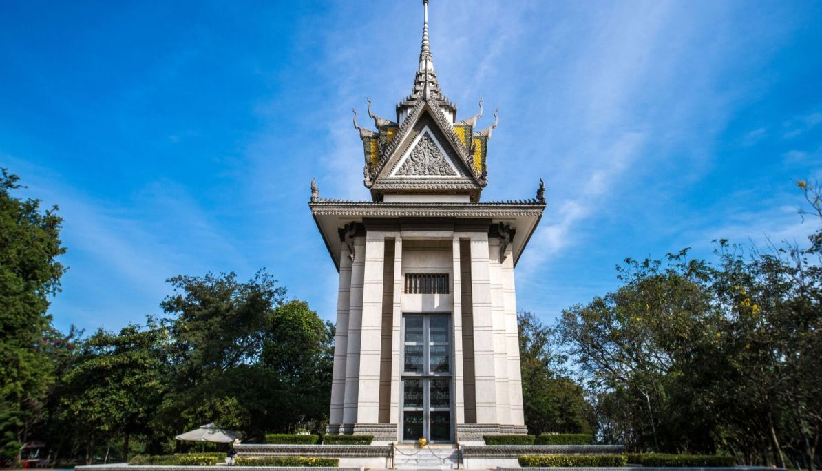 Killing Fields Phnom Penh Stupa