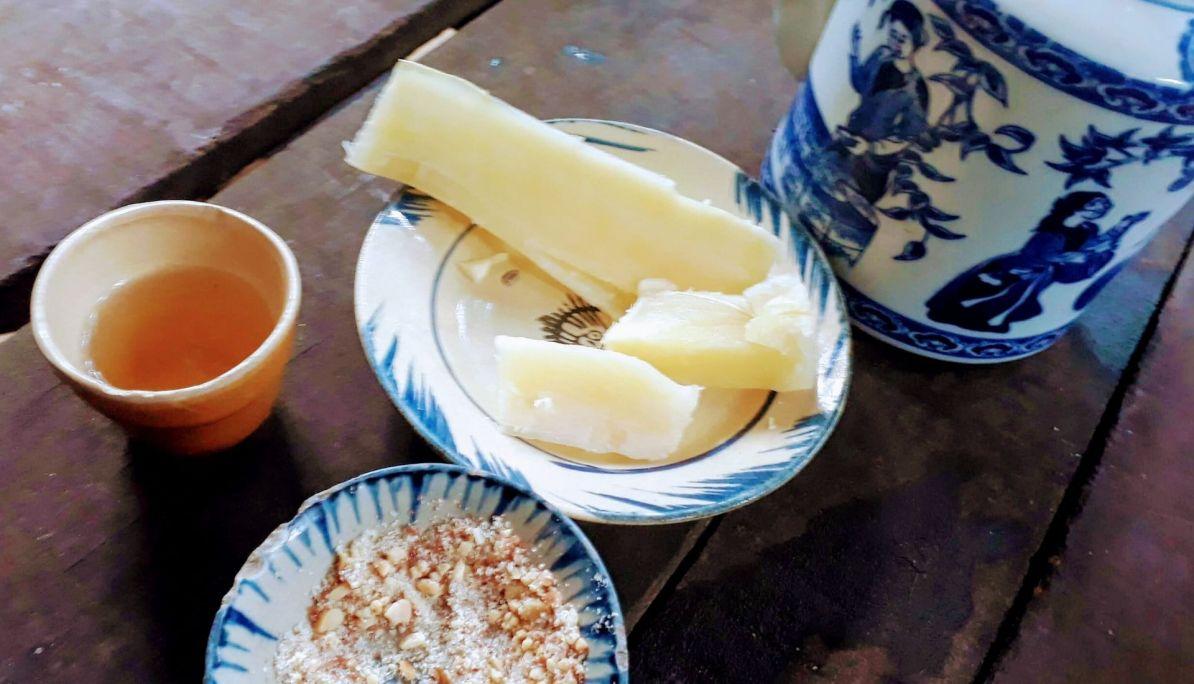 Tapioca and tea