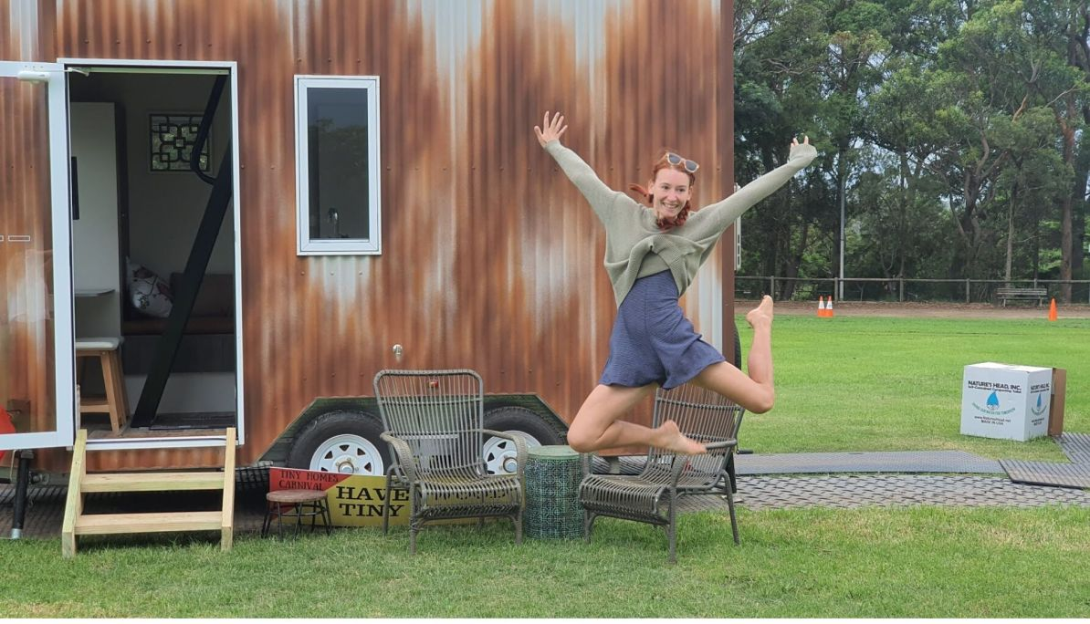 fun living in a tiny house
