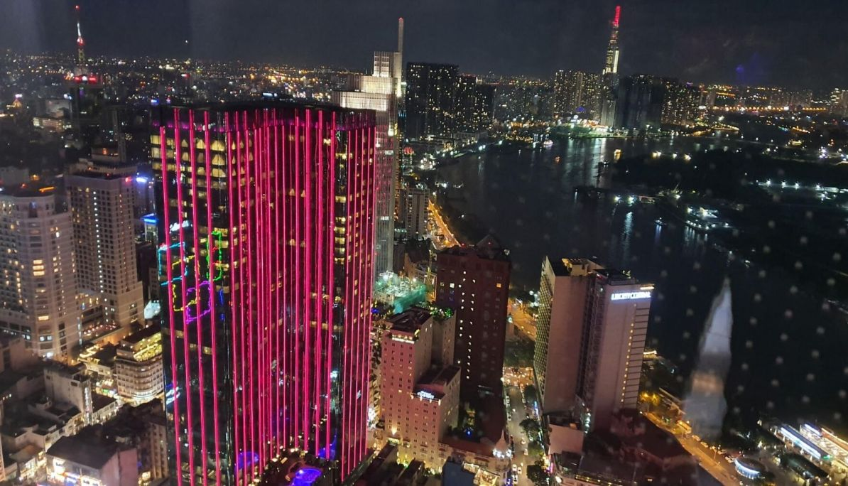 Evening View from the Bitexco Tower