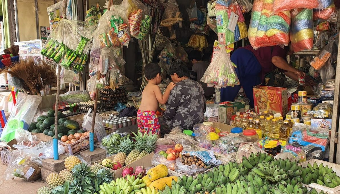 local market Siem Reap
