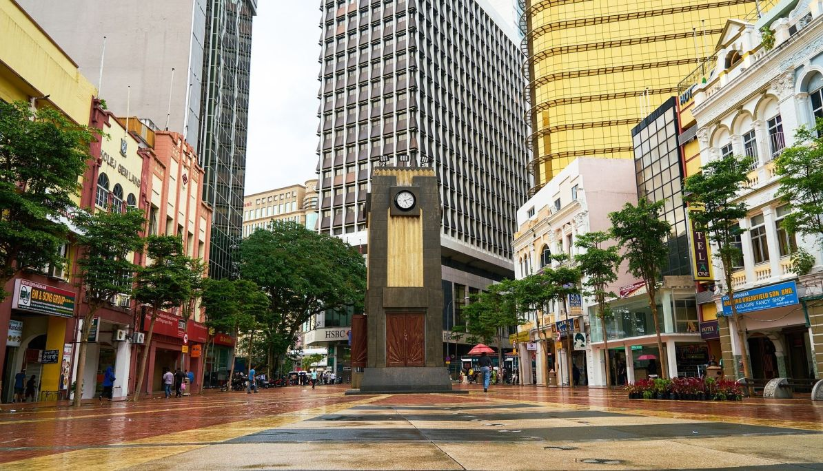 Clock Tower at Old Market Square