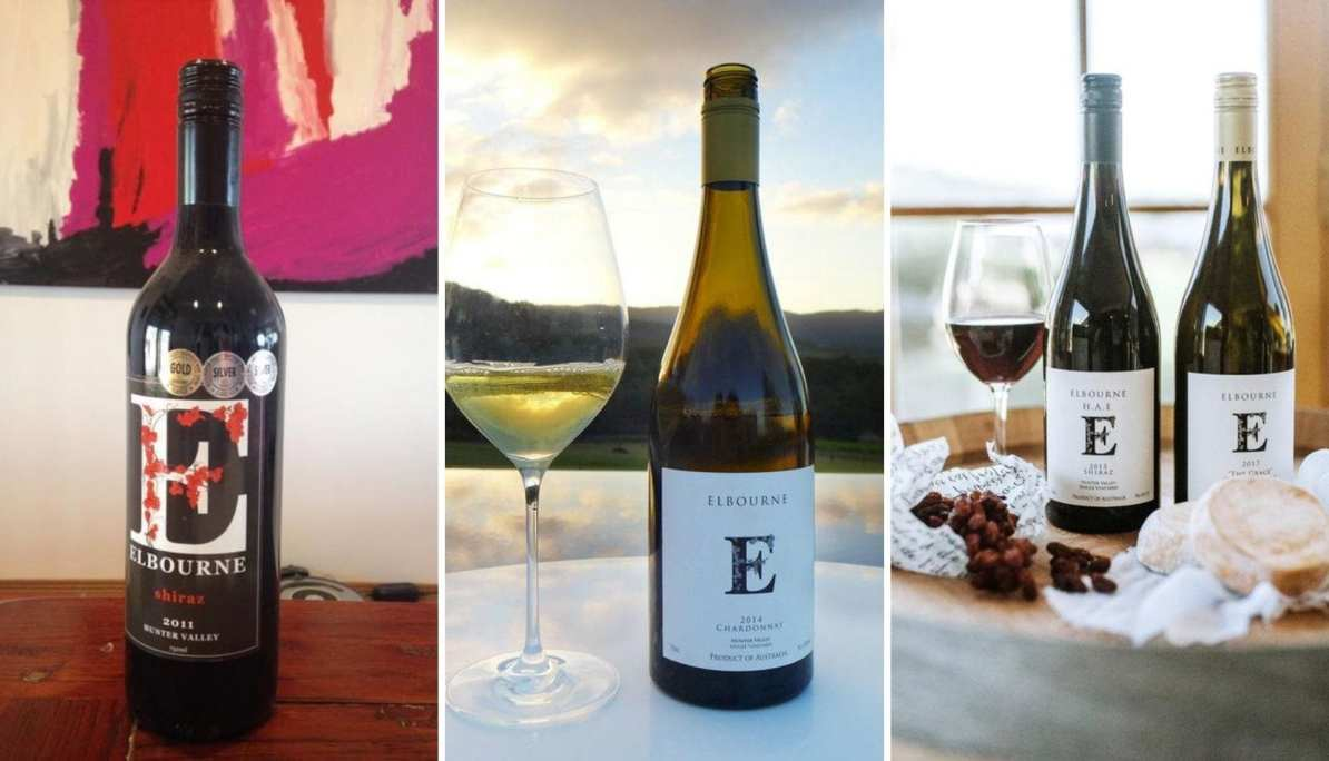 Trio of Elbourne Wines
