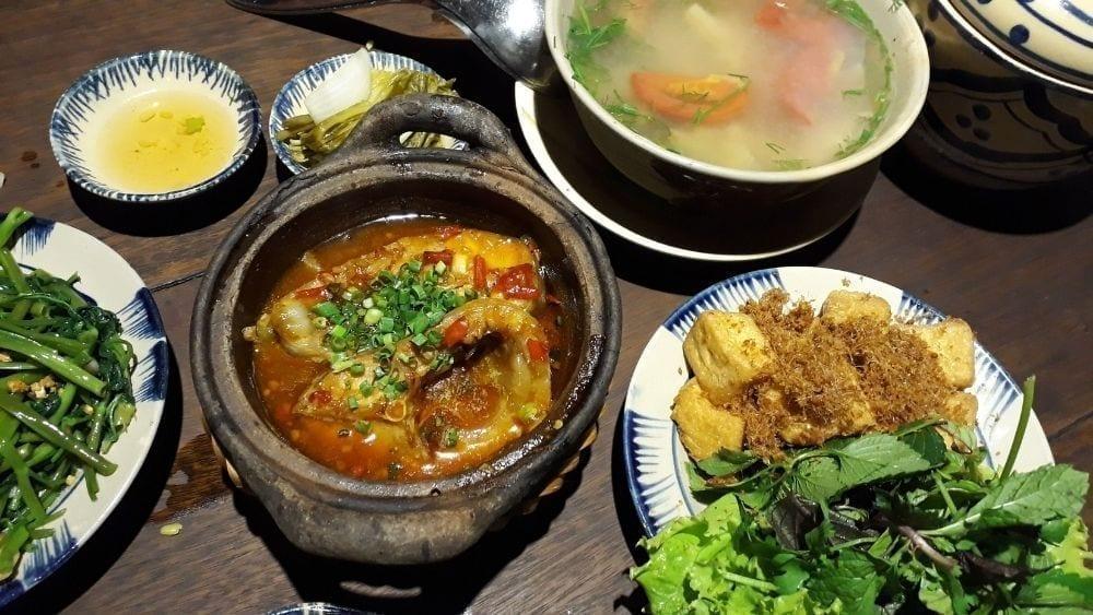 Au O Vietnam Kitchen Hanoi